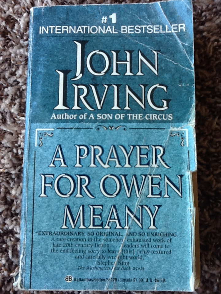 "an analysis of john irvings novel a prayer for owen meany A prayer for owen meany posted july 10, 1989 12 comments ""i am doomed to remember a boy with a wrecked voice—not because of his voice, or because he was the smallest person i ever knew, or even because he was the instrument of my mother's death, but because he was the reason i believe in god i am a christian because of owen meany."
