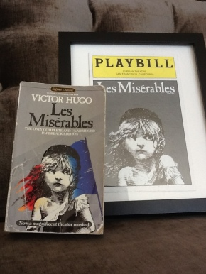 My copy of the book and my playbill