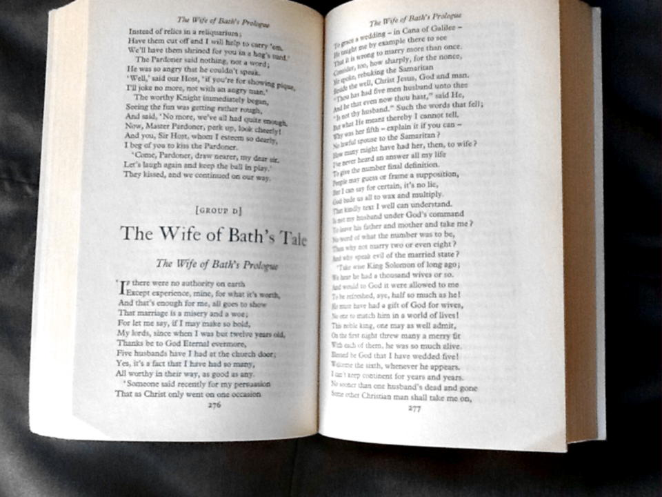 essay wife bath feminist Essays and criticism on geoffrey chaucer's the wife of bath's tale - critical essays.