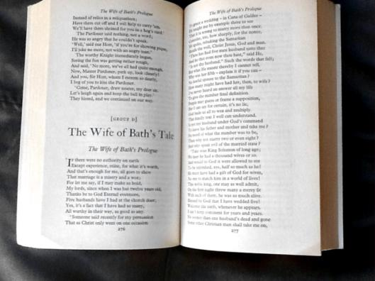 the subject of feminism in the wife of bath by geoffrey chaucer In the wife of bath's prologue within geoffrey chaucer's fourteenth-century   what women want has always been a vigorous topic of public  remains  undecided about whether the wife's text makes a case for feminism or not.