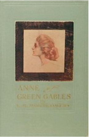 First edition cover of Anne of Green Gables from Wikimedia Commons