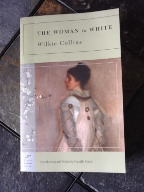 woman in white cover