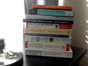 books on my nightstand