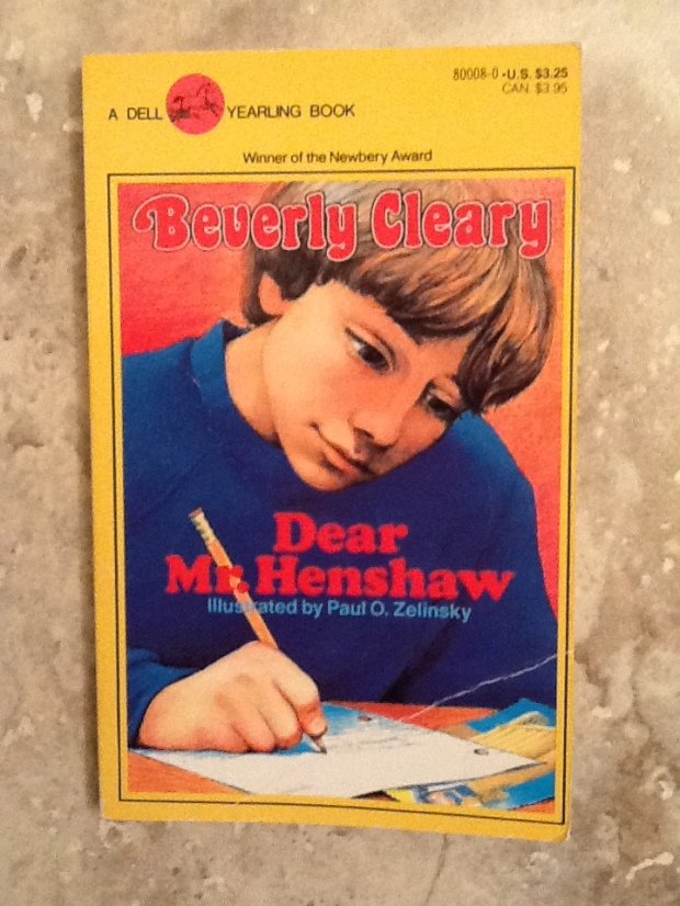 dear mr. henshaw cover