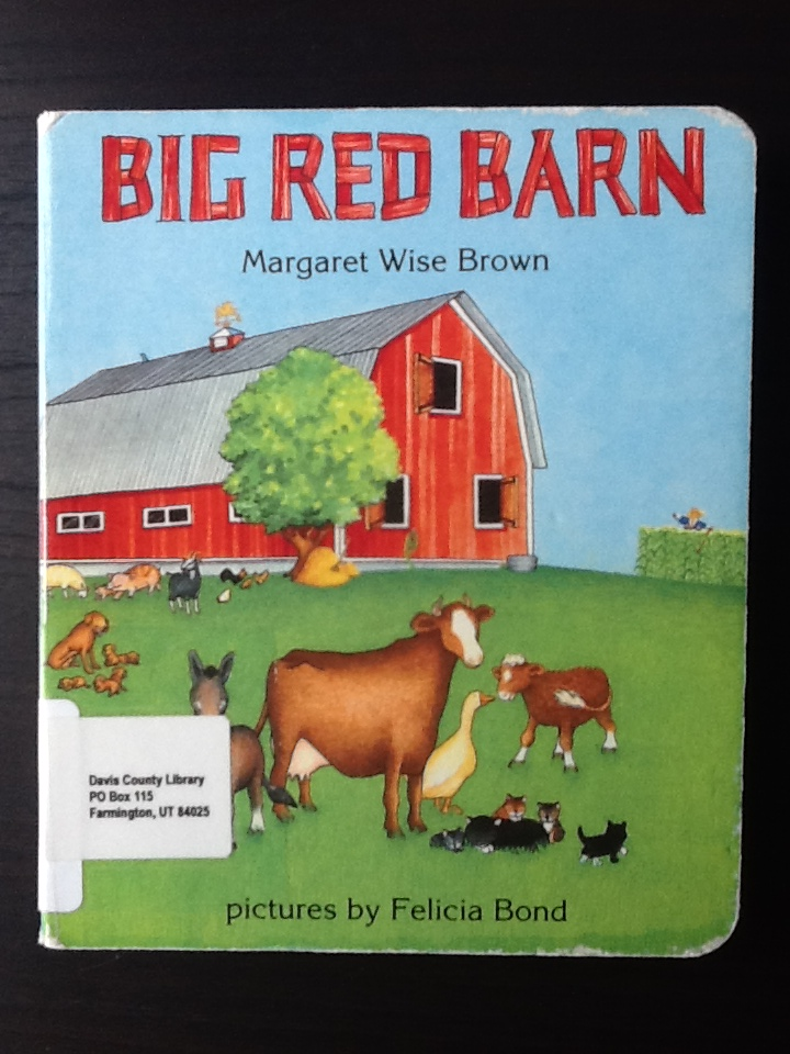big red barn cover