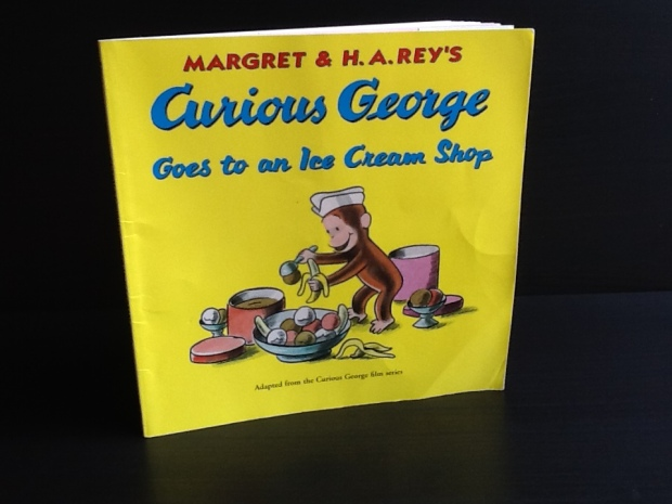 curious george cover
