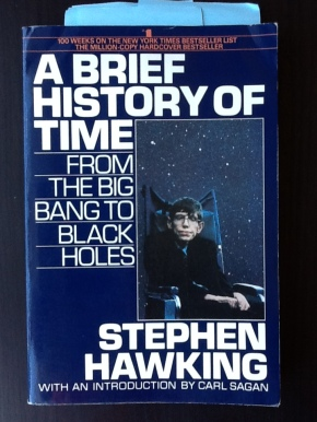 stephen hawking a brief history of time cover