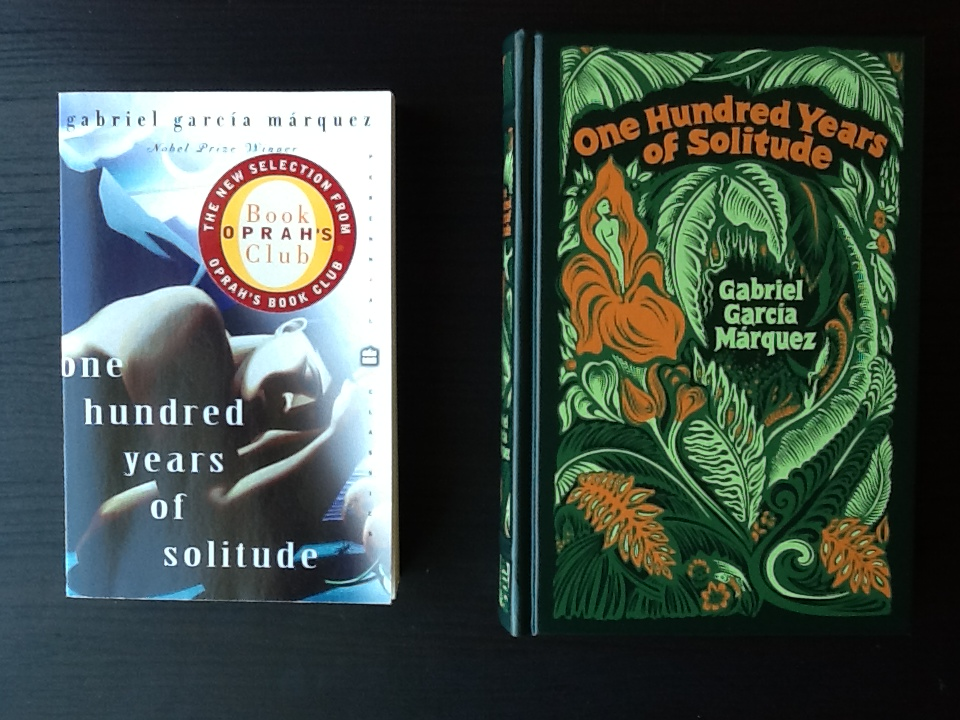books i have two or three copies of the bookshelf of emily j  two one hundred years of solitude