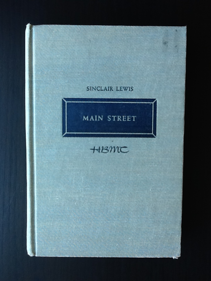 "essay main street by lewis Analysis main street  letter to lewis (1922) ""in main street he set out to tell a true story  one session and goes on to 'english fiction and essays ."