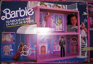 barbie glamour home