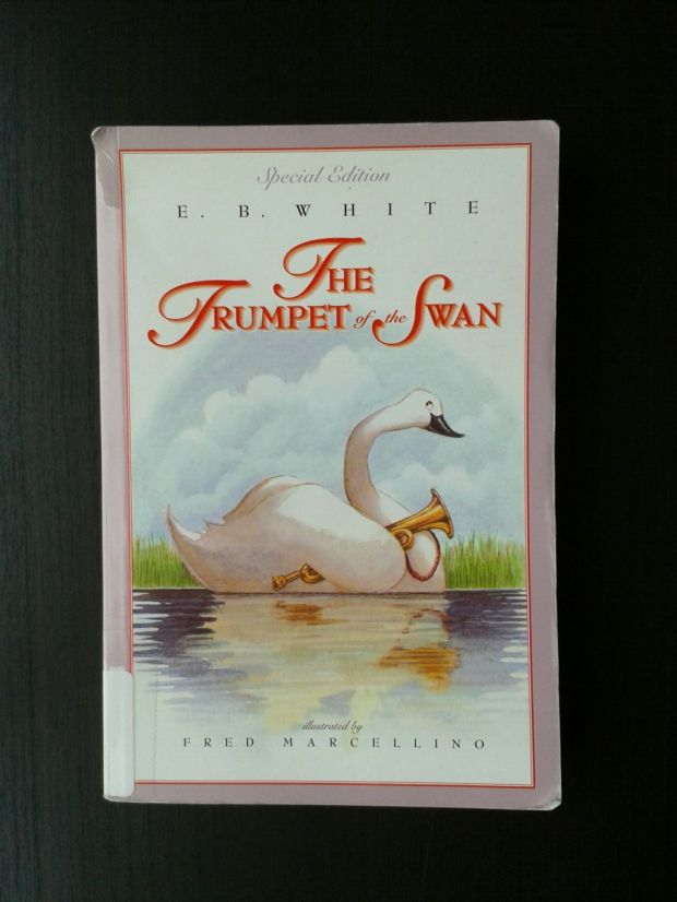 trumpet of the swan cover