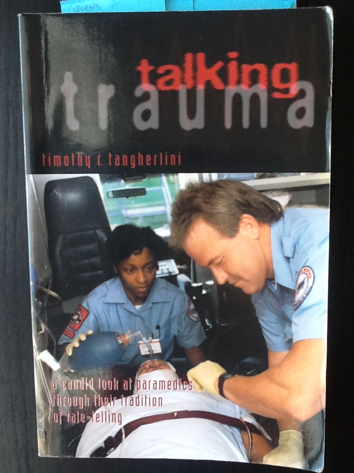 talking trauma cover