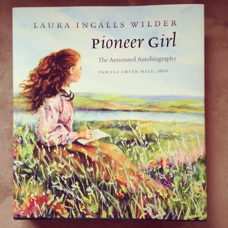 laura pioneer girl cover