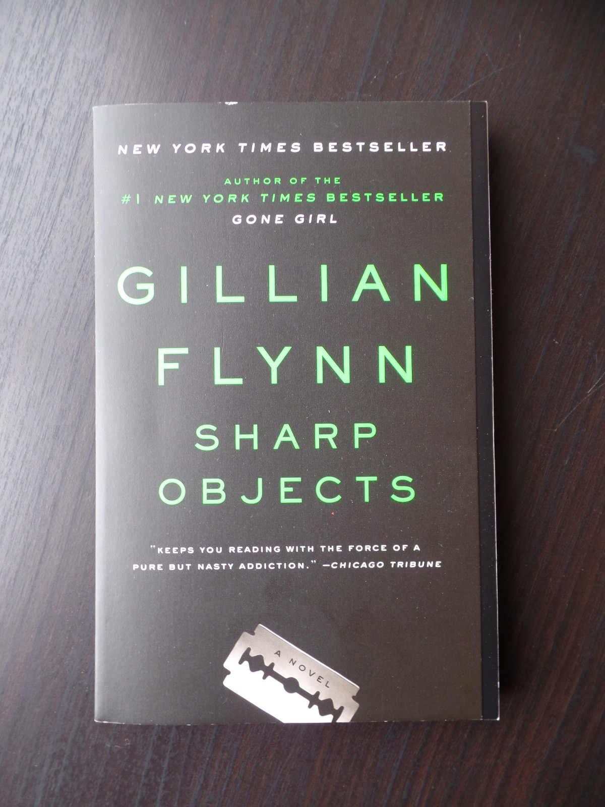 Sharp Objects Book