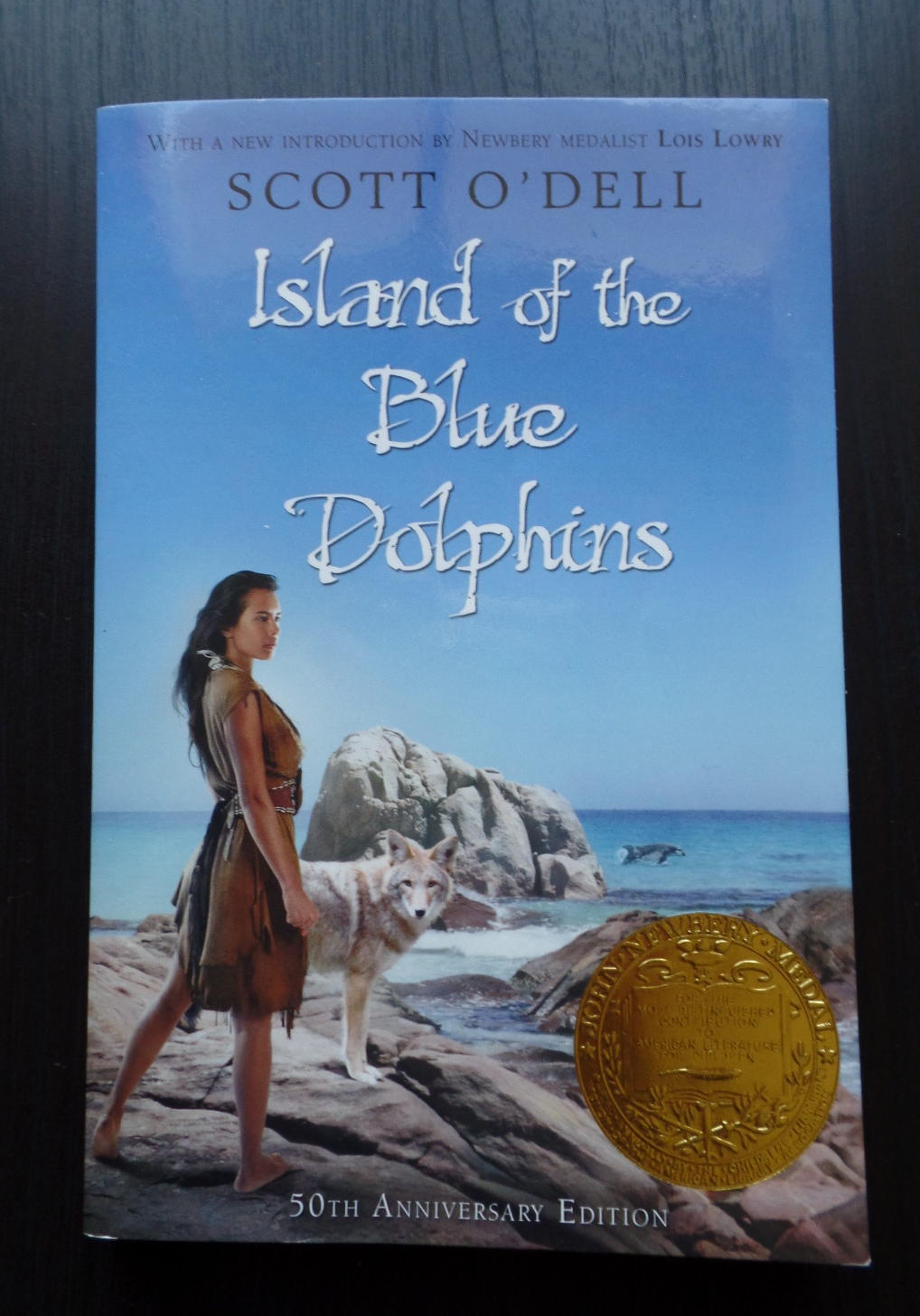 reading island of the blue dolphins for the first time